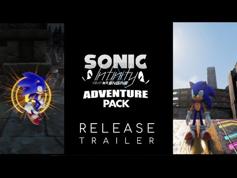 Sonic Infinity: Adventure Pack - Launch Trailer