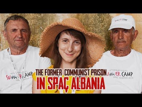 The former communist prison in Spaç ALBANIA #2 - Globe in the Hat