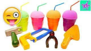 Kinetic Sand | Milkshakes | Tools | Toys Animals | Learn Animals | Fun For Kids