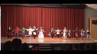 Expomanga Madrid 2013 Bailes y canciones (caramell dansen flash mob)