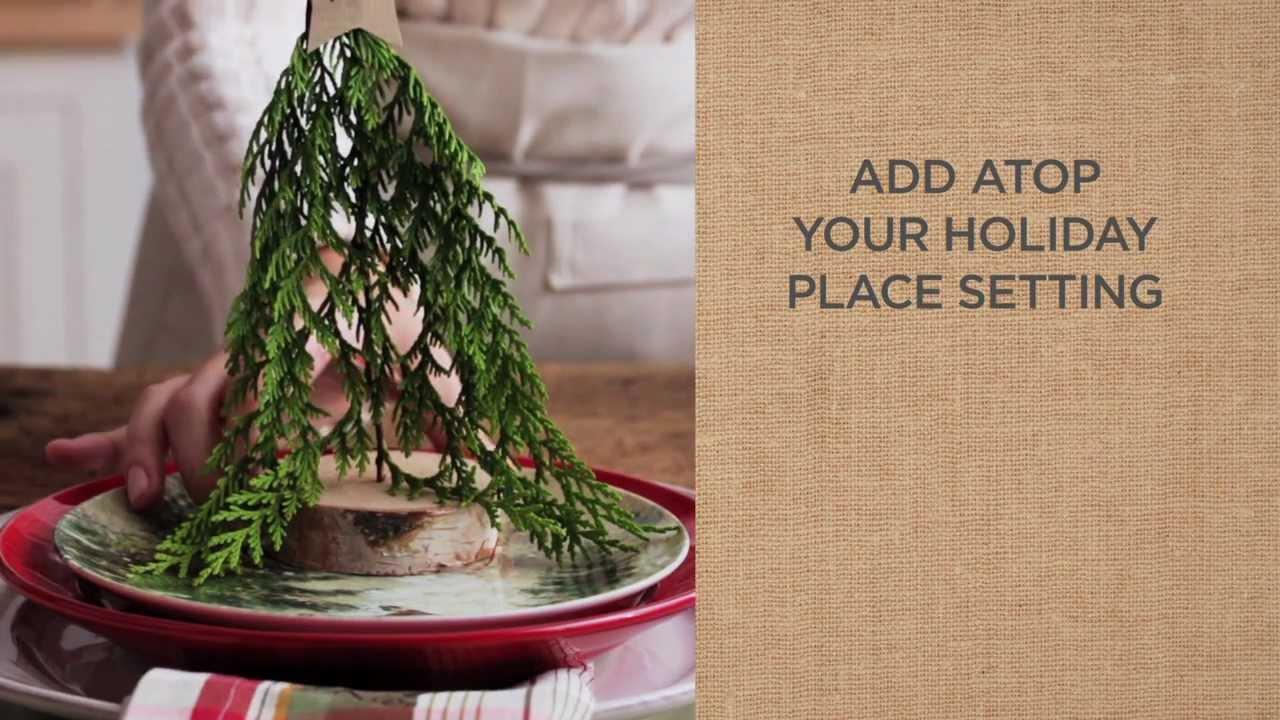 Christmas Place Settings ideas to make beautiful christmas place settings | pottery barn