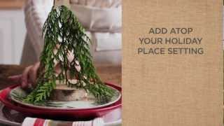 Ideas To Make Beautiful Christmas Place Settings | Pottery Barn