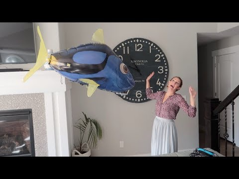 Terrifying GIANT FLYING FISH ATTACKS WOMAN😂😂😂