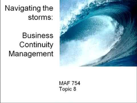 Risk identification, Business Impact Assessment & Business Continuity Management