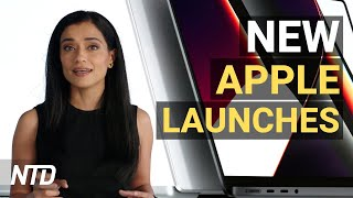 CEO: Vaccine Mandates a Big Business Concern; Apple Releases New MacBook Pros   NTD Business