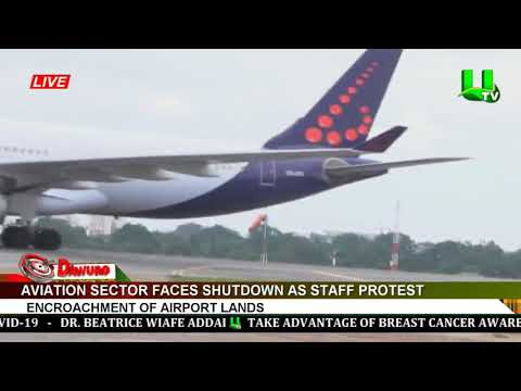 Aviation sector faces shutdown as staff protest encroachment of airport lands