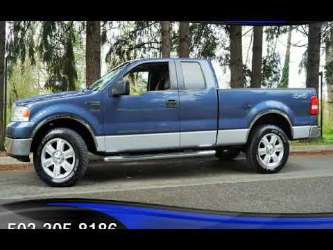 2006 Ford F-150 XLT 4dr SuperCab 4X4 117K 2 Owners V8 5.4L Auto for sale in Milwaukie, OR