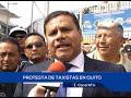PROHIBICIÓN DE OPERADORAS  UBER Y CABIFAY