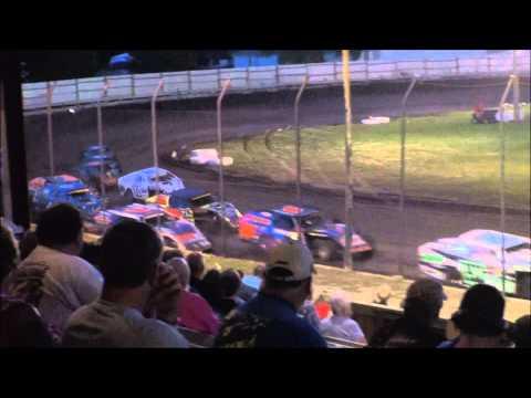 Imca modified Algona Raceway 6-21-14