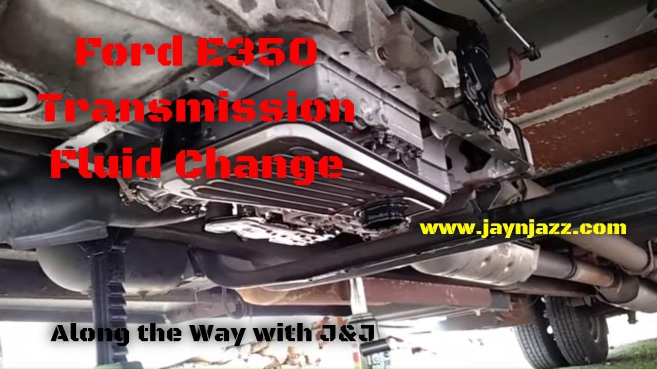 ford e350 transmission fluid filter change e40d transmission rv diy youtube [ 1280 x 720 Pixel ]