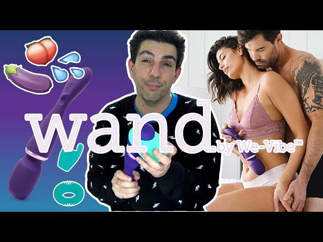 We-Vibe WAND : La MAGIC WAND 2.0 qui fait 💦 SQUIRTER - GICLER 💦 sans pénétration !