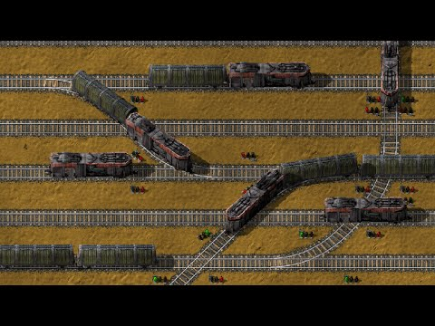 Factorio Rail Tutorial Part 2: Signals