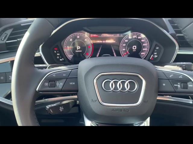 🔥Présentation de notre nouvel Audi Q3 Sportback 35 TDI 150 ch S tronic 7 S line de 2020 et 100Kms ♥️
