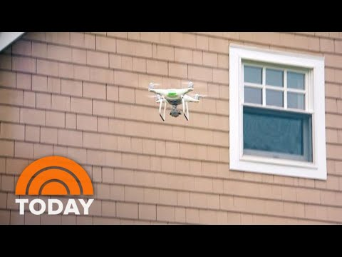 How Peeping Drones Could Be Spying On You Without You Knowing It | TODAY