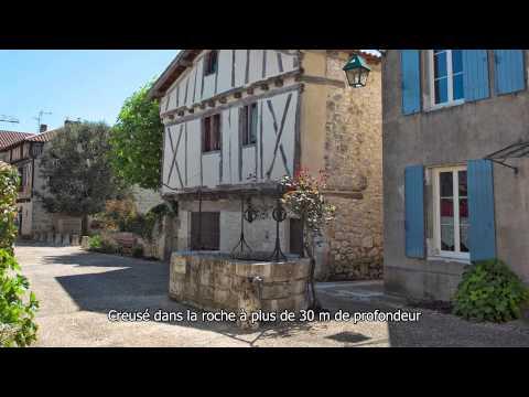 Pujols, village classé parmi les plus beaux villages de France