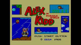 MegaReview # 0.6 - Alex Kidd in Miracle World - Master System