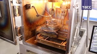 В Томске создали 3D принтер, на котором можно печатать из металла даже на Луне
