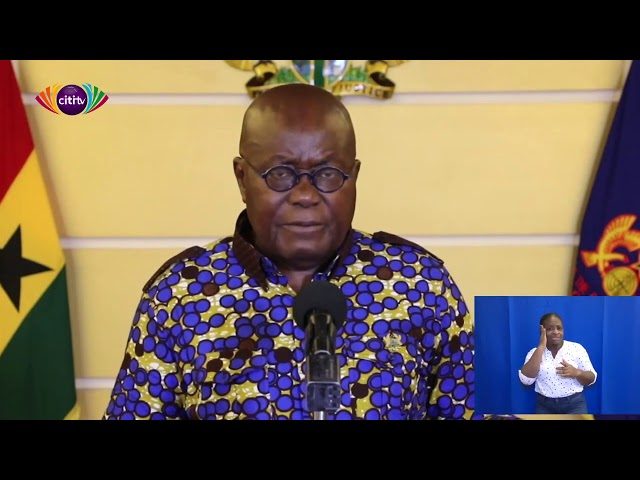 Nana Addo's 17th national address on COVID-19