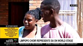 Ndlovu Youth Choir expected back home Friday night