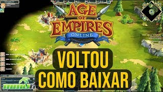 como baixar Age Of Empires Online DOWNLOAD 2019 (project celeste)