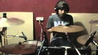Anggun C Sasmi - Takut (Covered by Jenova-Drum Cam)