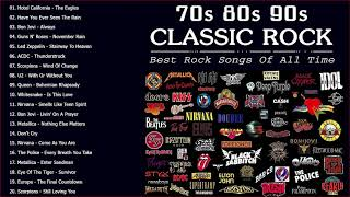 Classic Rock Music 70s 80s 90s | Best Classic Rock Of All Time