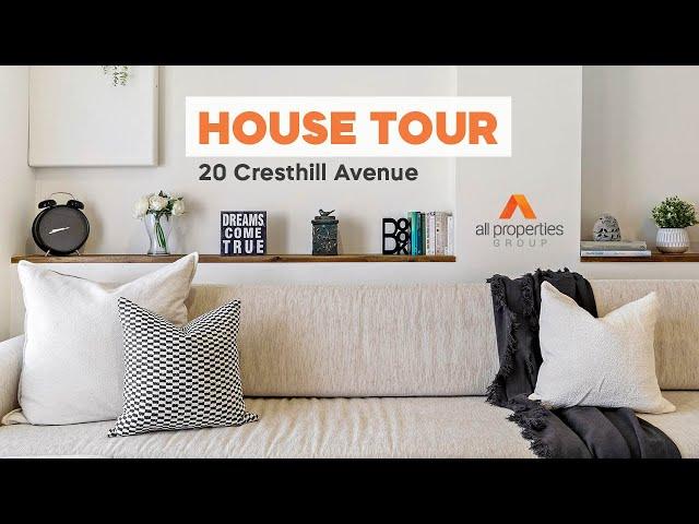 HOUSE TOUR   20 Cresthill Avenue Regents Park   CHRIS GILMOUR & DERRICK WILLIAMS