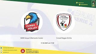 11-04-2021: #A2MVolley #cheplayoff - BAM Acqua S.Bernardo Cuneo - Conad Reggio Emilia