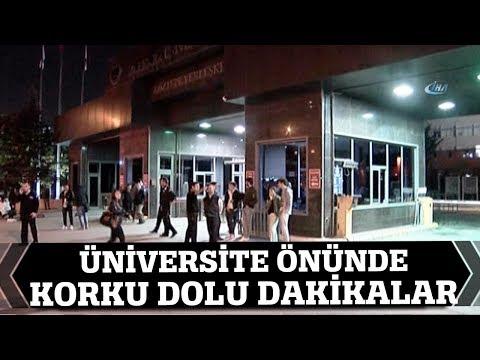 Silahla Marmara Üniversitesi'ni Bastı