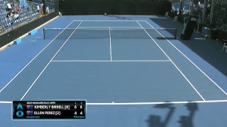 Australian Open 2019  Wildcard Play-off   Court 8 - 15 Dec