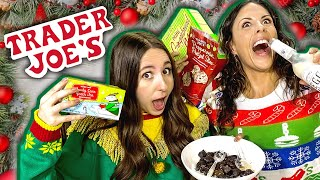 Trying ALL the Trader Joe's Holiday Foods