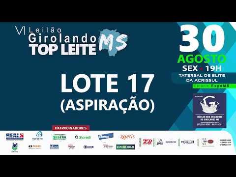 LOTE 17 - ASPIRAÇÃO RAINA QUILATE DO FAZENDÃO
