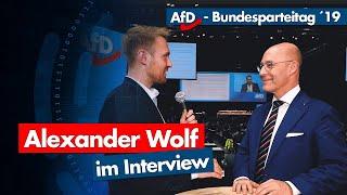 AfD-Parteitag | Alexander Wolf im Interview