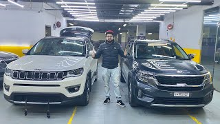 Kia Seltos Vs Jeep Compass In PPF | Paint Protection Film On Jeep Compass | Car Detailing In Delhi