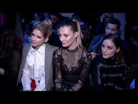 Alice Taglioni, Olivia Palermo and more Front Row for the Elie Saab Fashion  in Paris