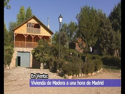 Venta casa de madera y parcela 2700m2 en cuenca youtube - Casas de madera canadienses en espana ...