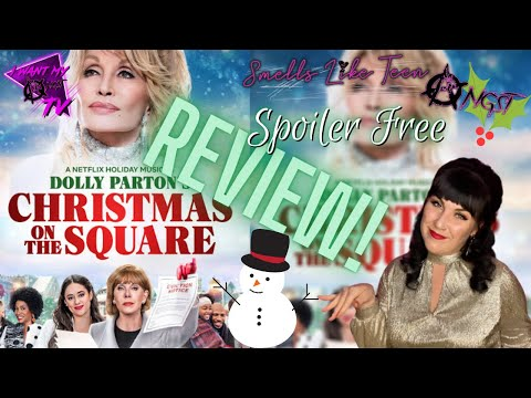 Dolly Parton's Christmas on the Square - Full of Dolly Magic! | Netflix Original Movie Review