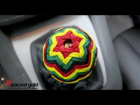 Car tack- fancy paracord shifting gear knob wrap