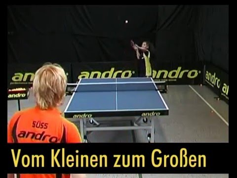 2006 Table tennis Teaching with Cristian Suss