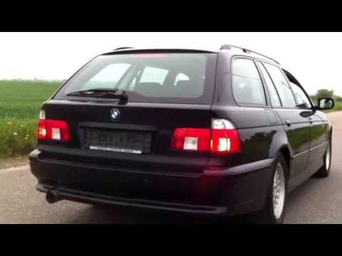 BMW E39 540i touring SOUND-CHECK !!!