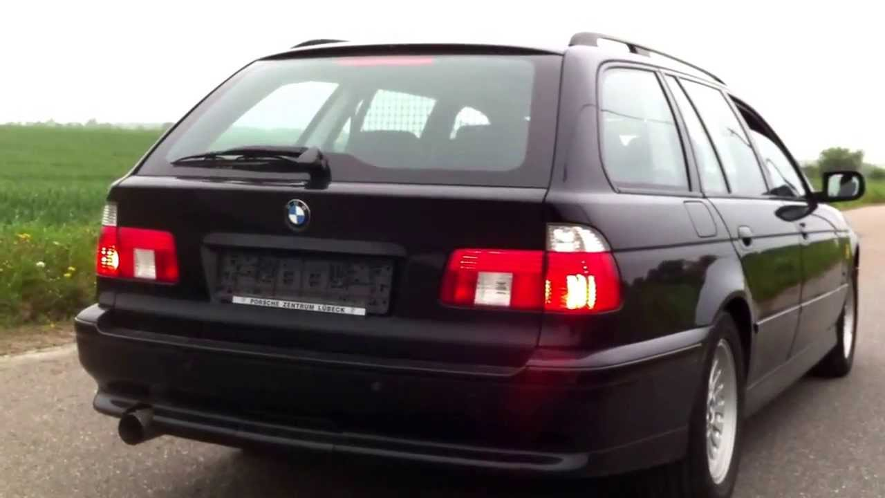 bmw e39 540i touring sound check youtube. Black Bedroom Furniture Sets. Home Design Ideas