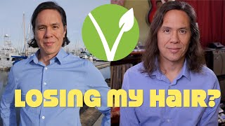 Am I Losing Hair As A Vegan? My 7 Month No Haircut Challenge. #deterioration