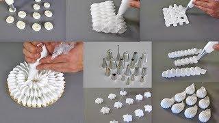Como utlilizar las boquillas esenciales en pastelería. How to use the essential nozzles for pastry.