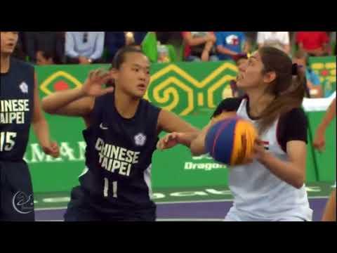 Syria VS chines taipei | basketball 3x3 ashgabat 2017 indoor