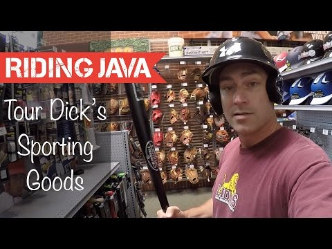 Shopping Dick's Sporting Goods in America