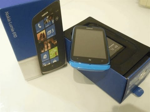 Unboxing y Review Nokia Lumia 610