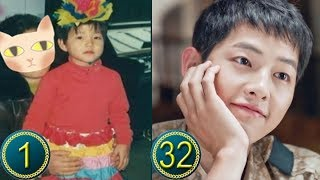 Song Joong Ki Predebut | From Childhood to Present | Then And Now | Before And After