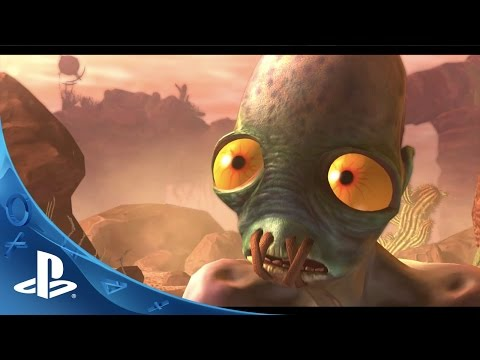 Oddworld Abe's Odyssee New 'n' Tasty! -- Launch Trailer | PS4