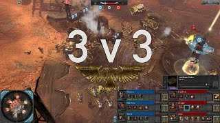 Dawn of War 2 - 3v3 | Marutectz + Max Power + Yarrick [vs] Final Push + Zevargel + yahya