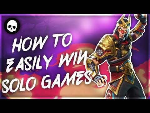 How To EASILY Win Solo Games In Fortnite! (Top Console Player Tips & Tricks)